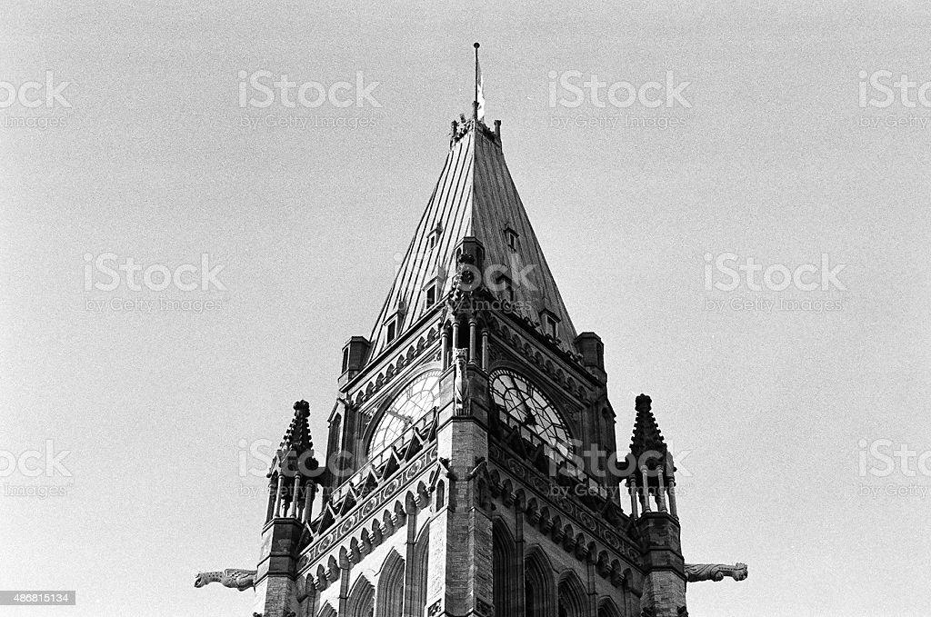 Ottawa Peace Tower I stock photo