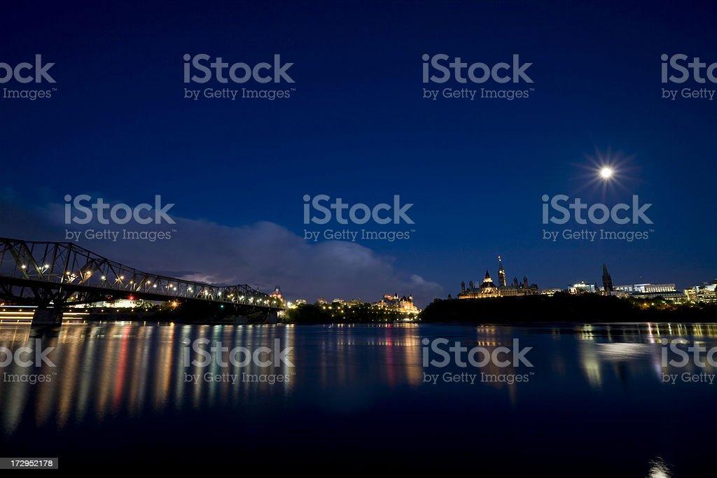 Ottawa skyline, Canada royalty-free stock photo