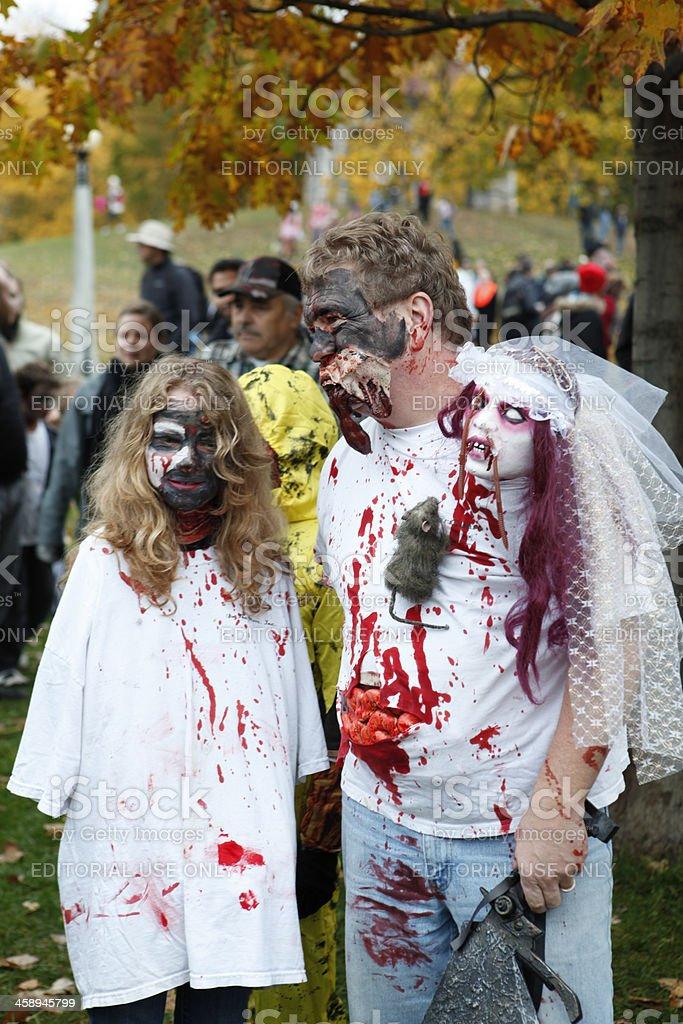 Ottawa Zombie Walk royalty-free stock photo