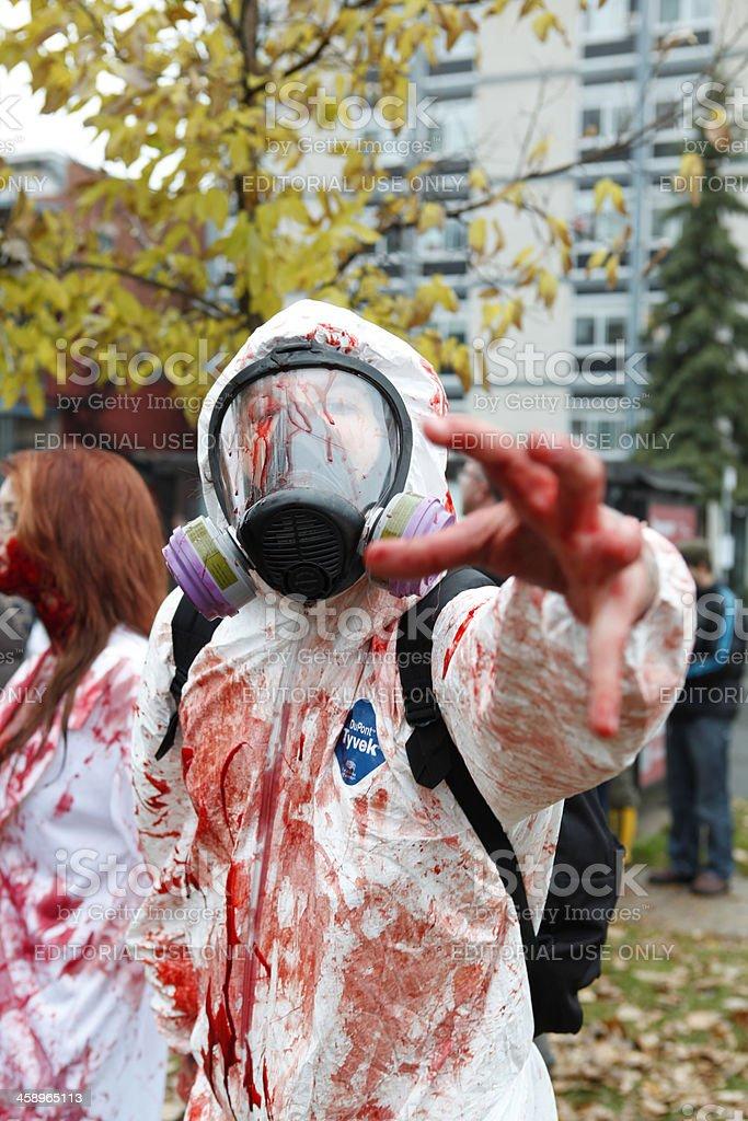 Ottawa Zombie Walk stock photo