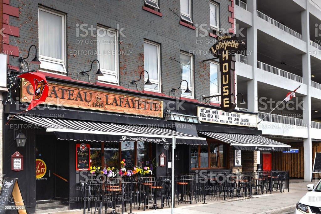 Ottawa's Oldest Tavern stock photo