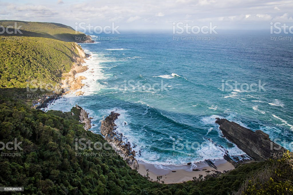 Otter Trail Ocean View stock photo