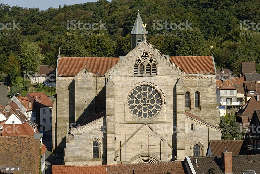 Otterberg Abbey stock photo