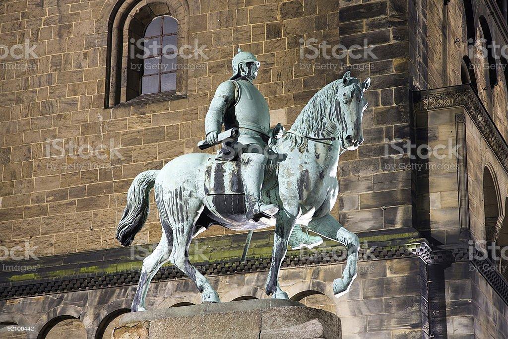 Otto von Bismarck stock photo