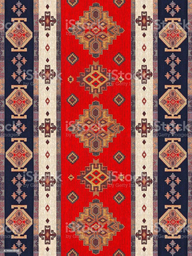 Ottoman Carpet stock photo