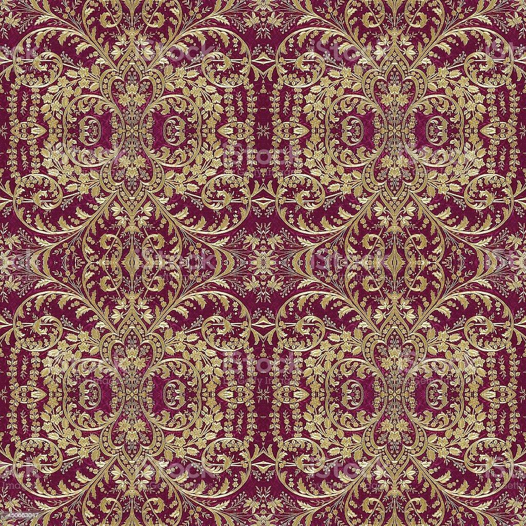 Ottoman Carpets Design stock photo
