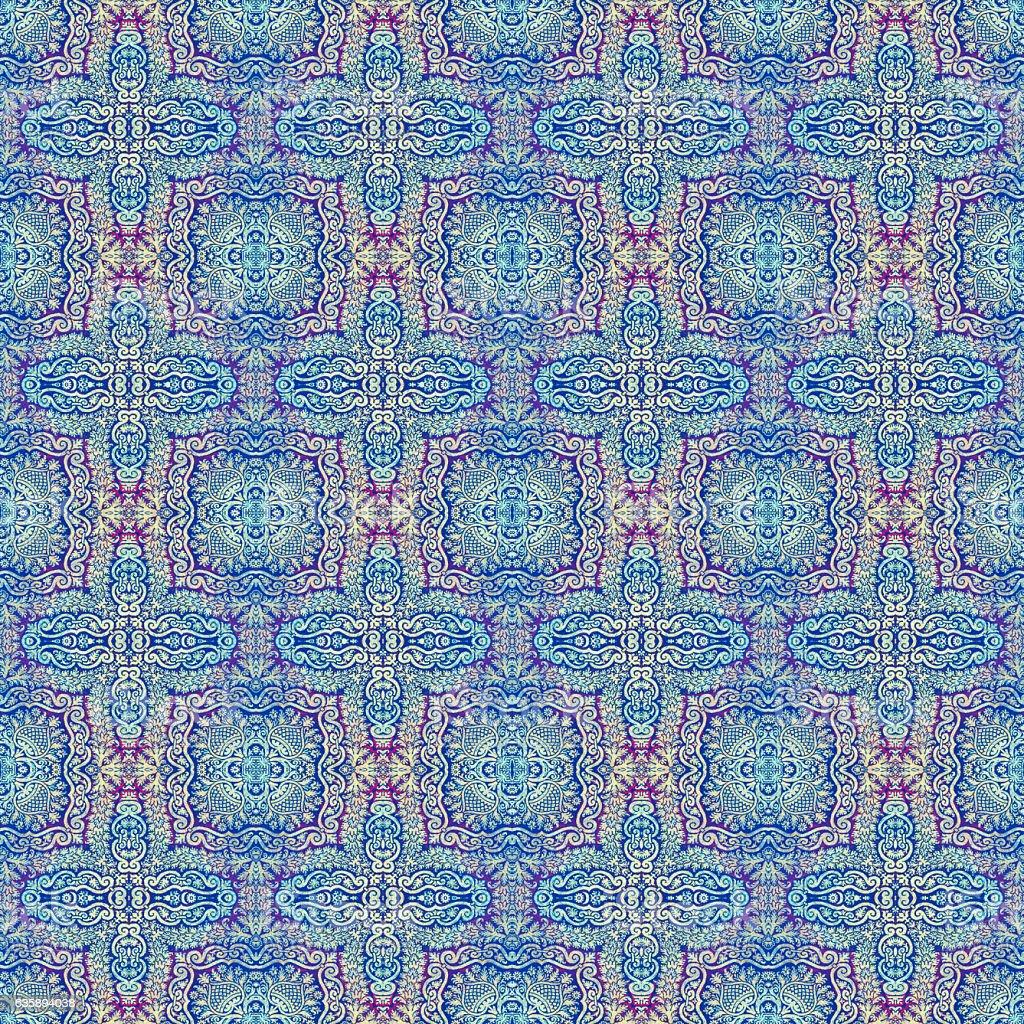 Ottoman cloth stock photo