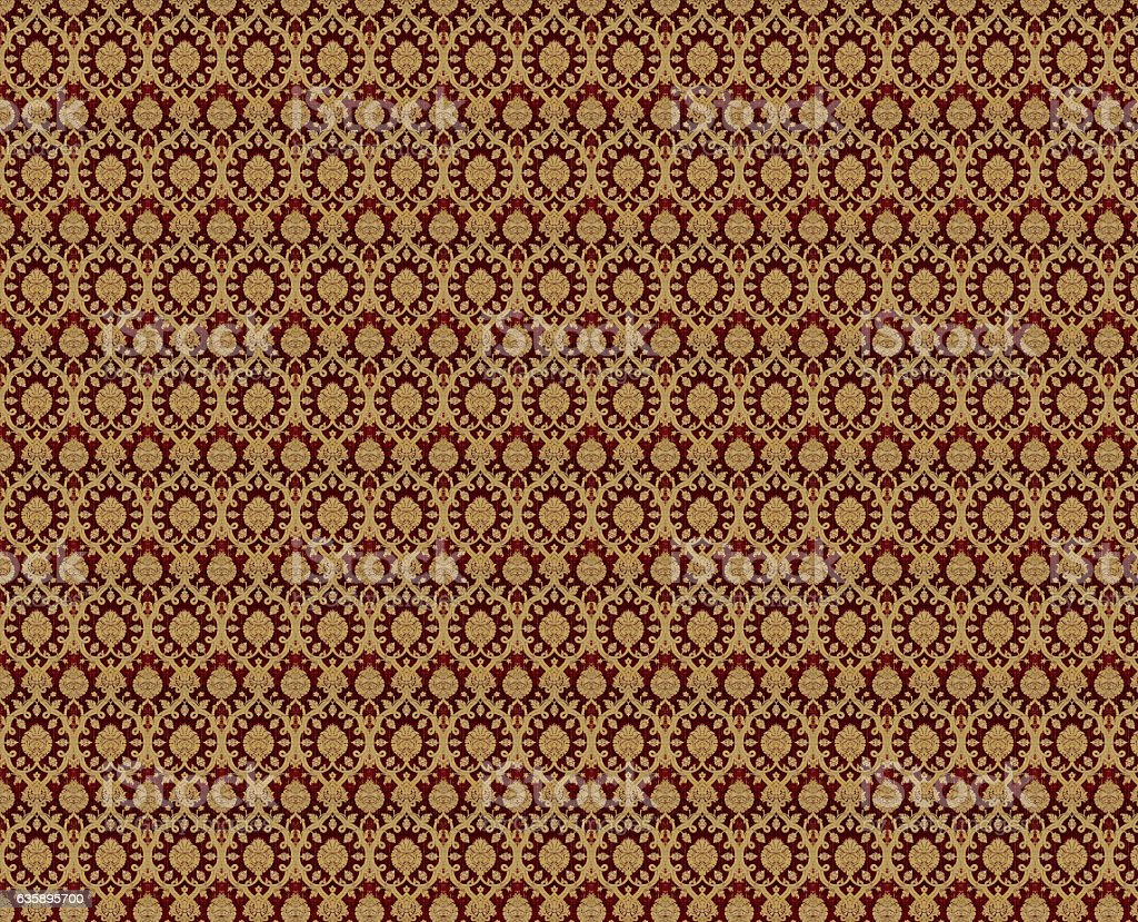 Ottoman cloth stock photo