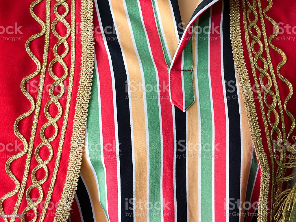 Ottoman clothing royalty-free stock photo
