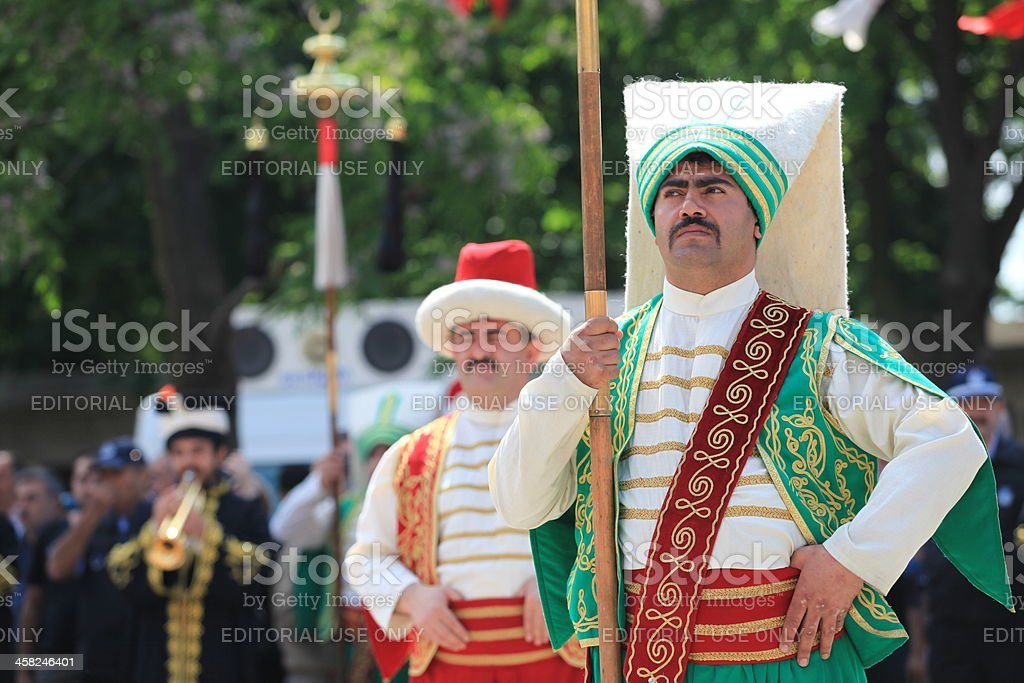 Ottoman Military Music stock photo
