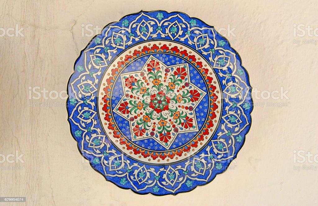 Ottoman motifs stock photo