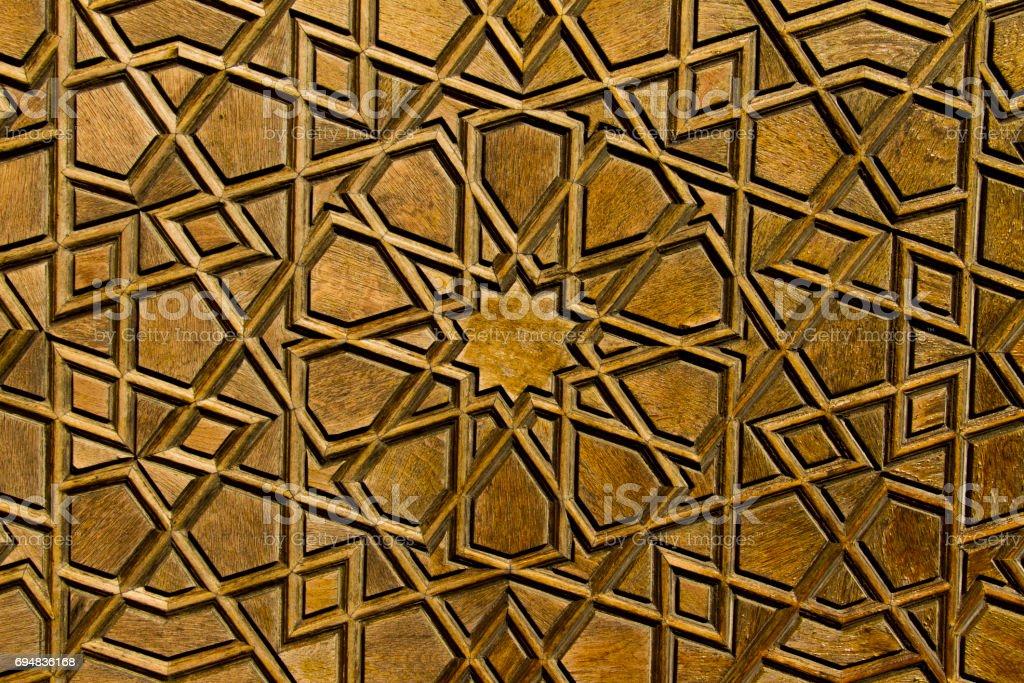 Ottoman patterns stock photo