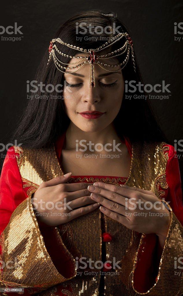 Ottoman Princess stock photo