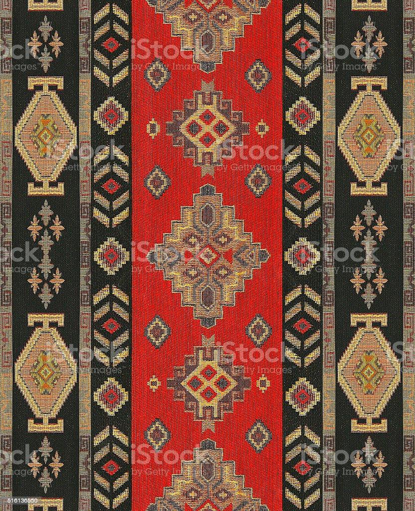 Ottoman Rug Carpet stock photo