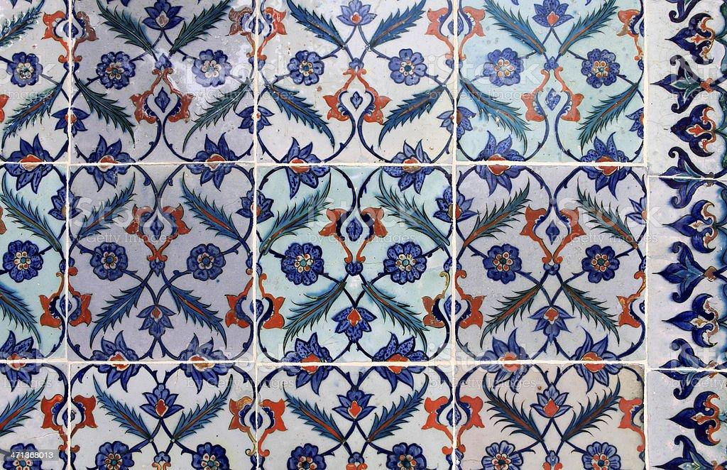 Ottoman Style Ceramic royalty-free stock photo