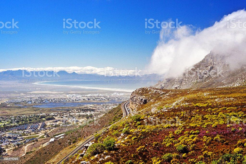 Ou Kaapse Weg royalty-free stock photo