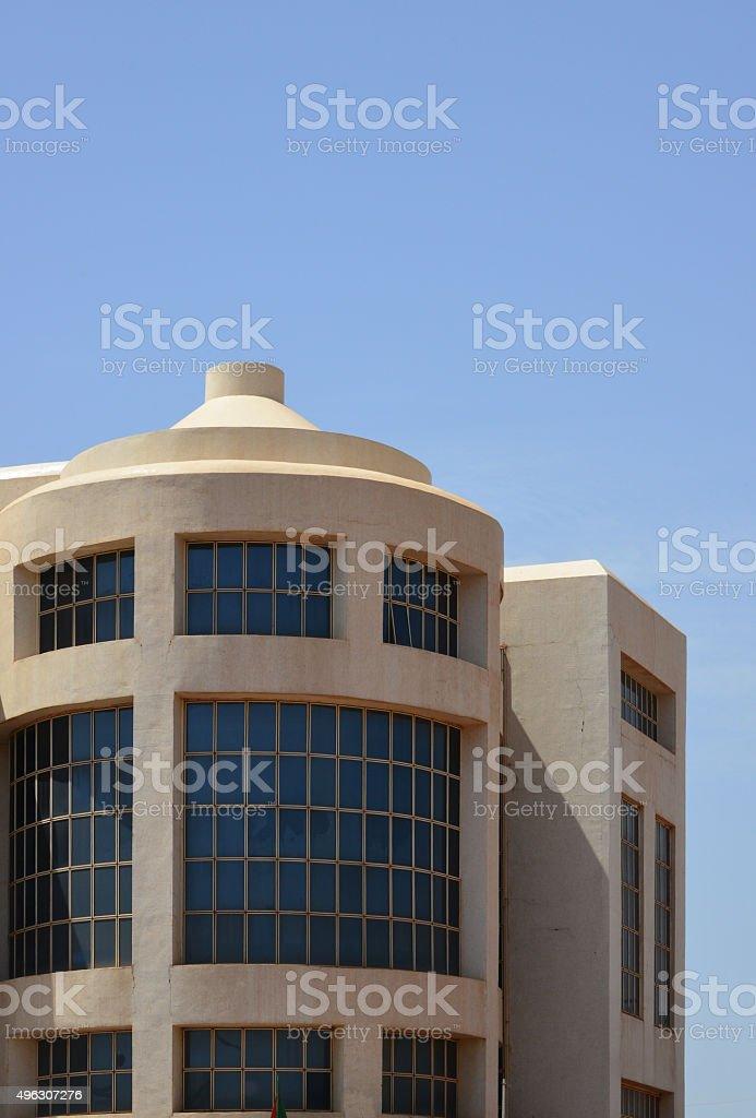 Ouagadougou, Burkina Faso: e-government building stock photo