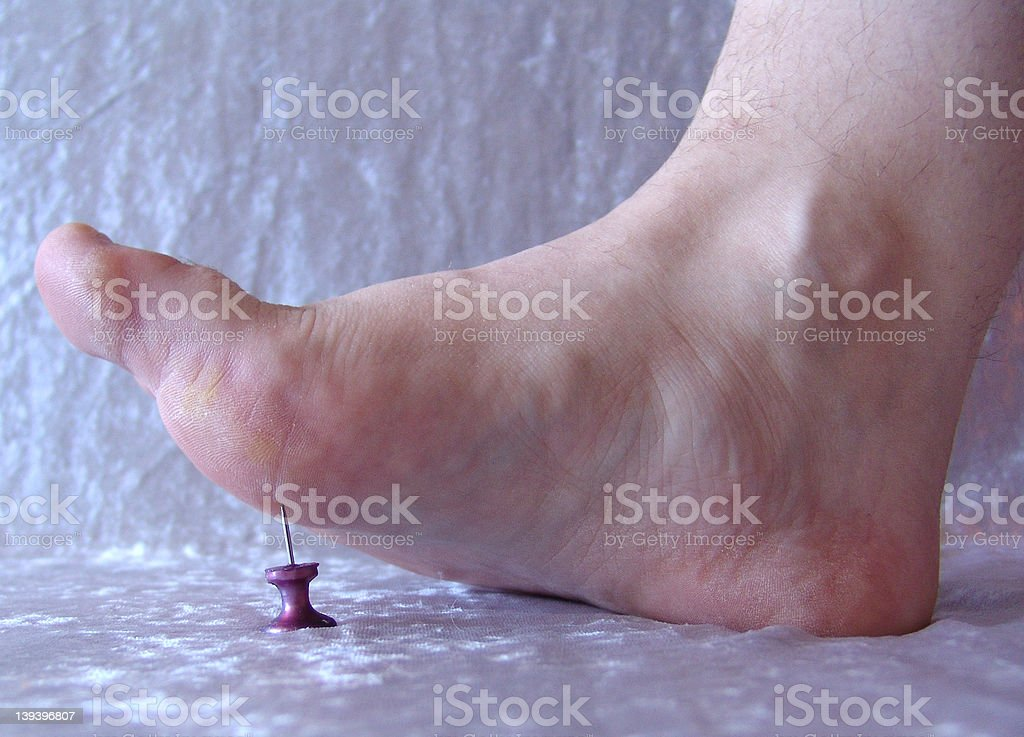 Ouch 1 royalty-free stock photo