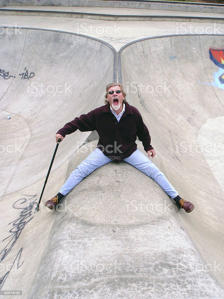 Ouch! stock photo