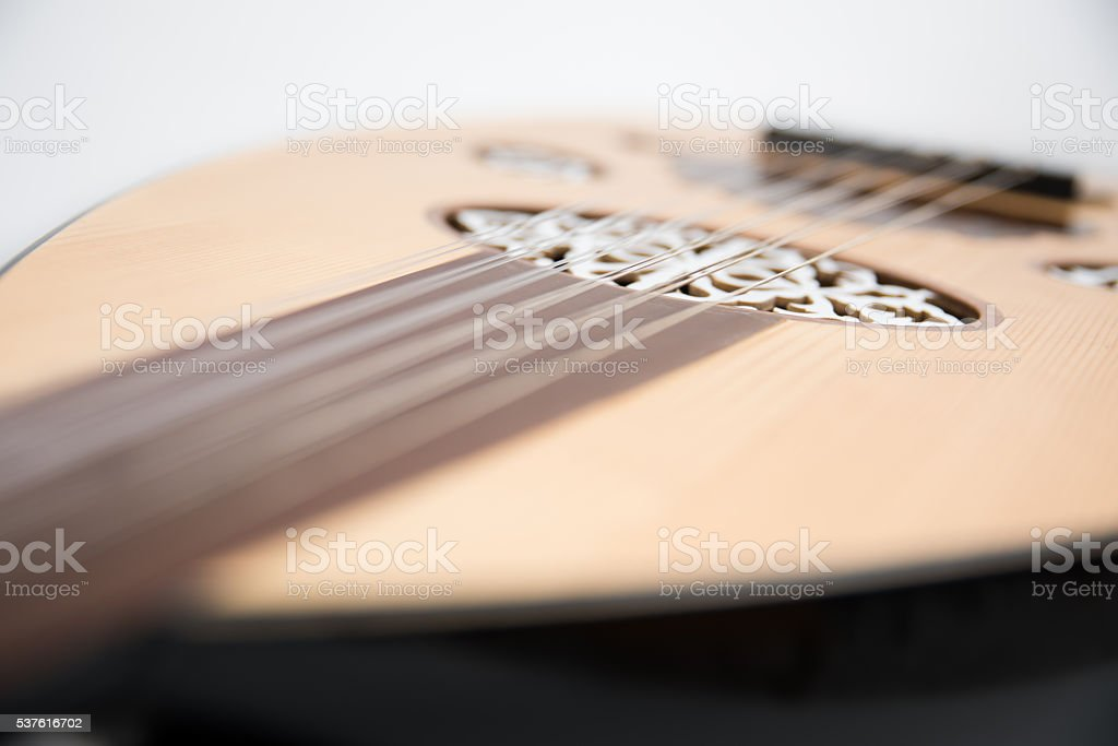 Oud close up stock photo