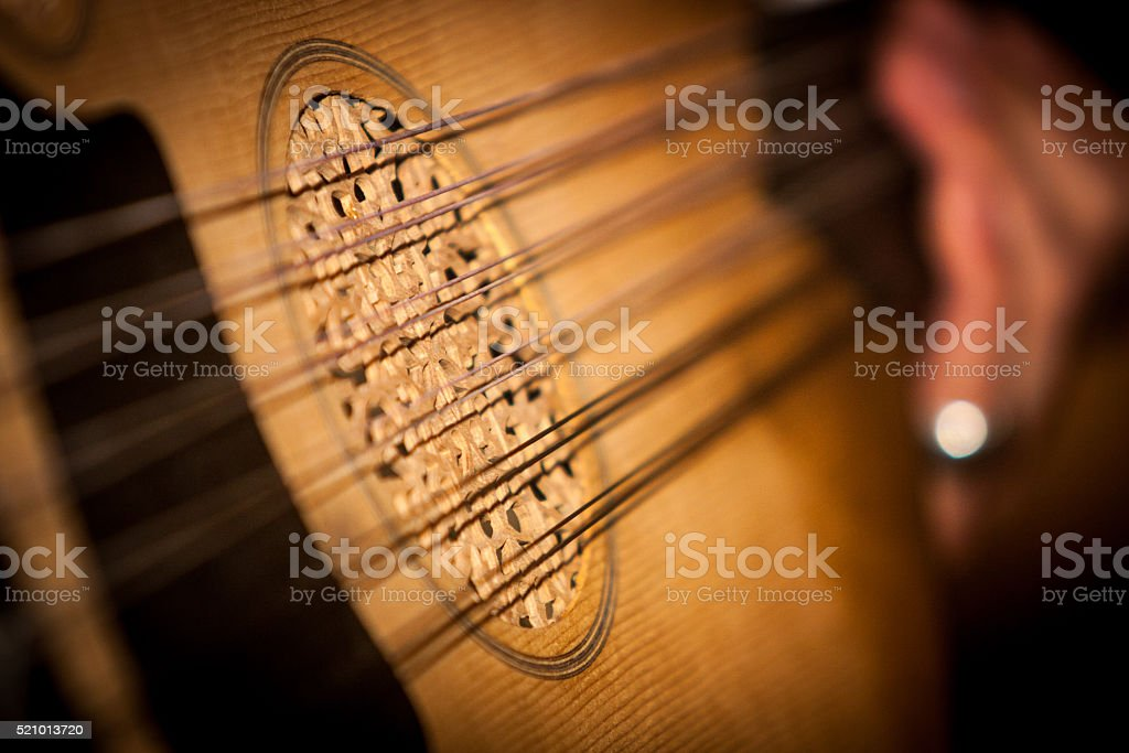 Oud Musical Instrument stock photo