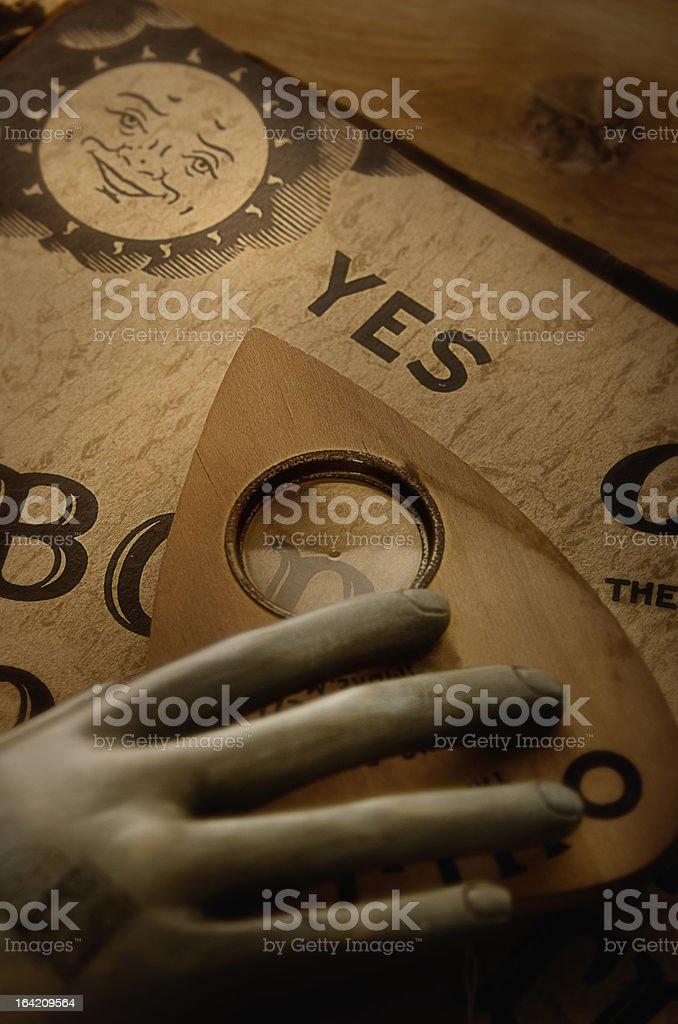 Ouija Board stock photo