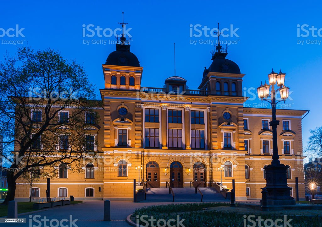Oulu City Hall stock photo