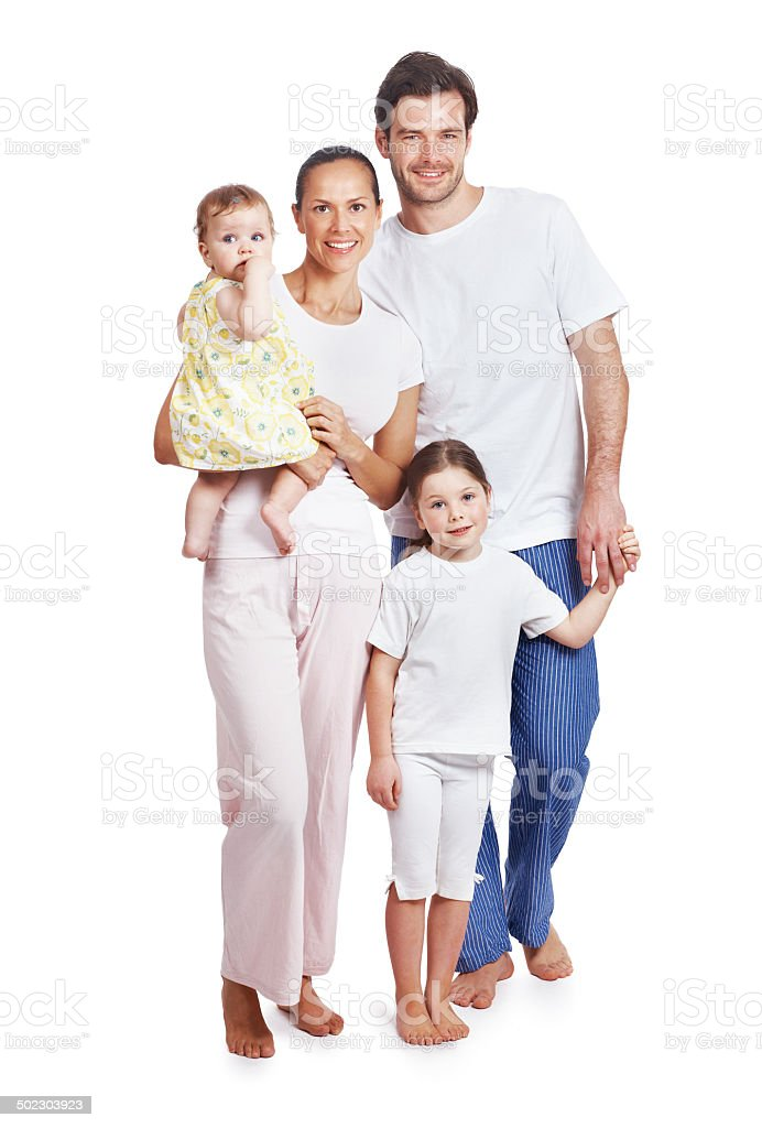 Our beautiful family... royalty-free stock photo