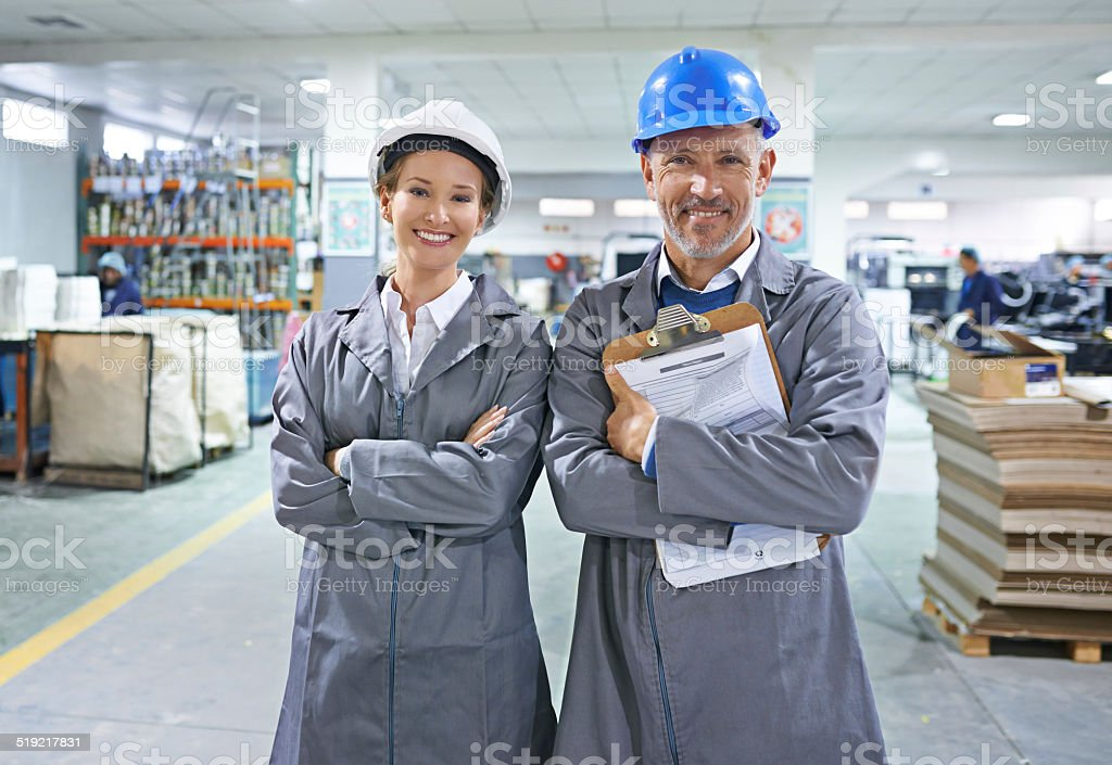 Our business is a well-oiled machine stock photo