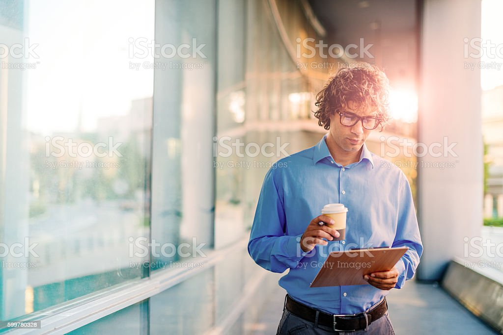 Our company is facing changes stock photo