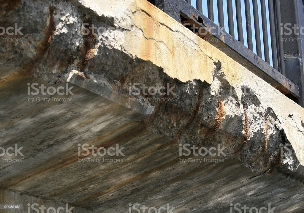Our Crumbling Infrastructure royalty-free stock photo