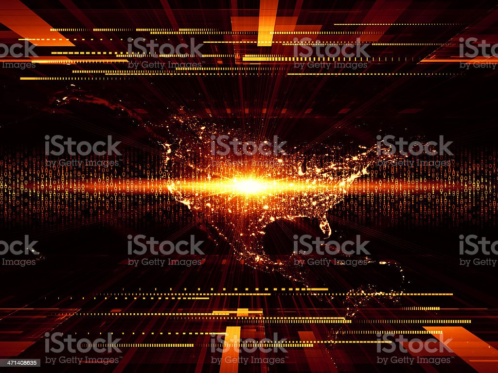 Our Digital World royalty-free stock photo