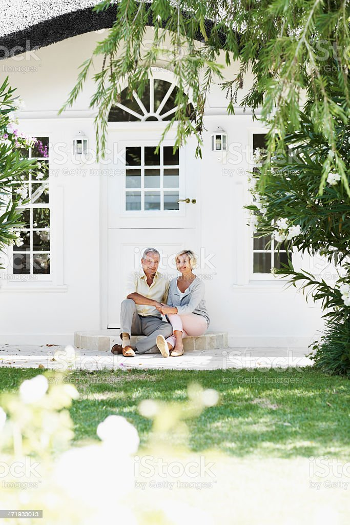 Our dream home royalty-free stock photo