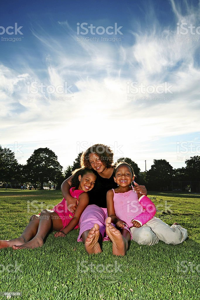 our fam royalty-free stock photo