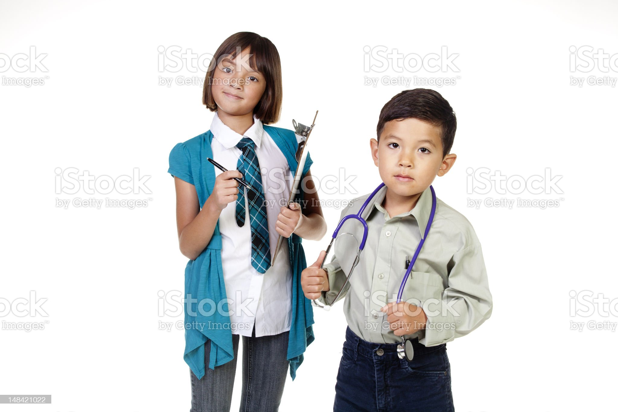 Our future professionals. royalty-free stock photo