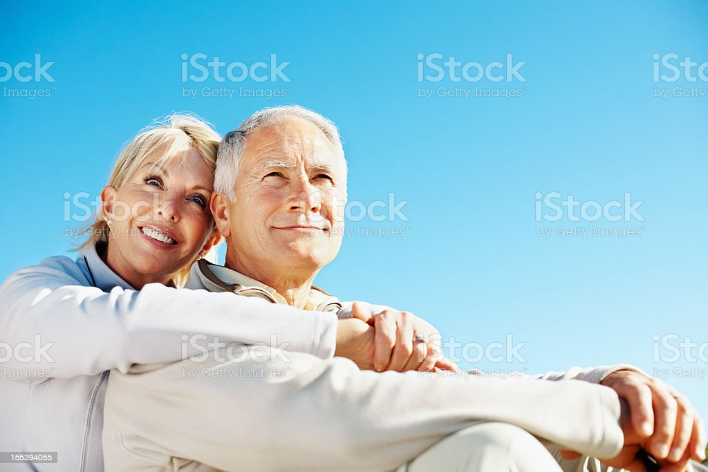 Our future's looking bright and healthy royalty-free stock photo