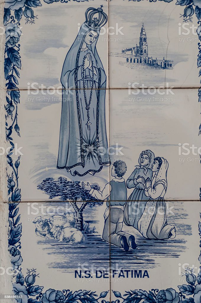 Our Lady of Fatima stock photo