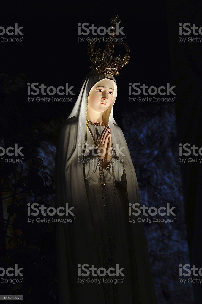 Madonna di Fatima stock photo