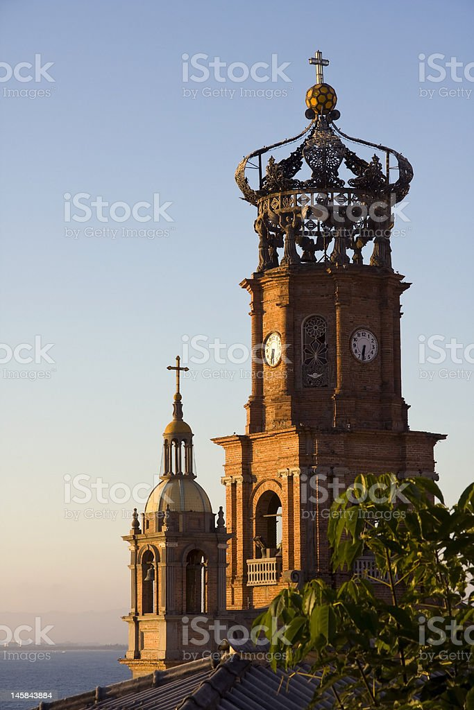 Our Lady of Guadalupe Cathedral, Puerto Vallarta stock photo