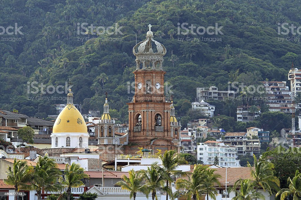 Our Lady Of Guadalupe, Puerto Vallarta stock photo