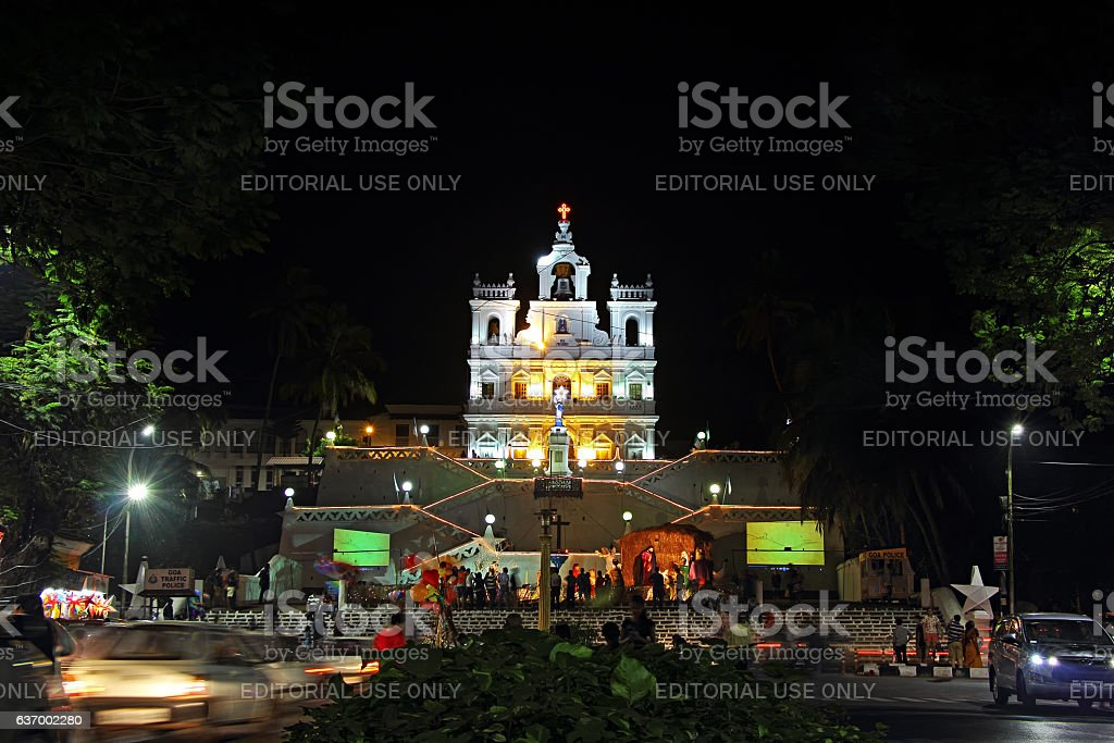 Our Lady of Immaculate Conception Church stock photo
