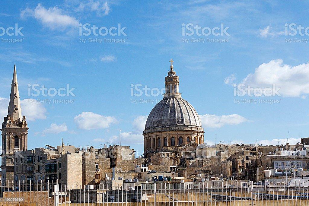 Nostra Signora di Monte Carmelo, Valletta foto stock royalty-free