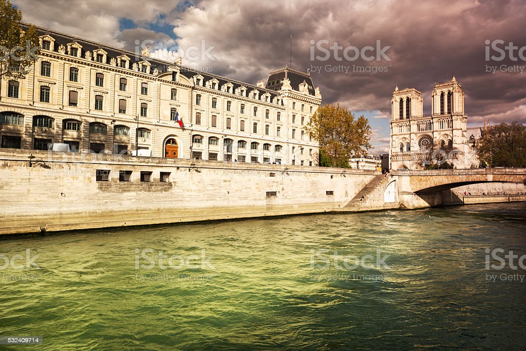 Notre Dame stock photo