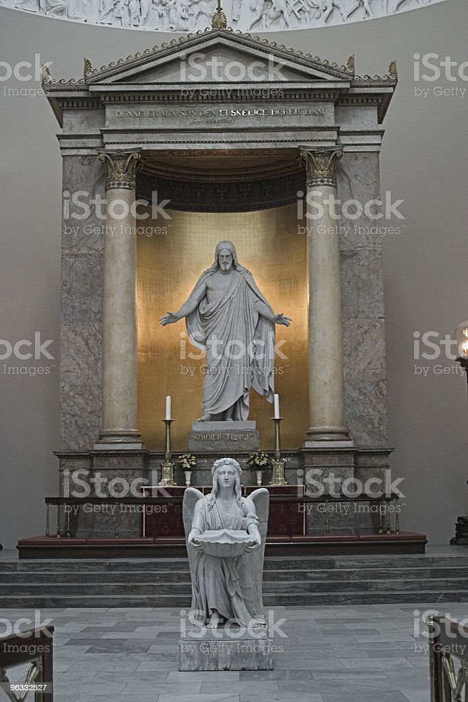 Our Lady's Church, Altar royalty-free stock photo