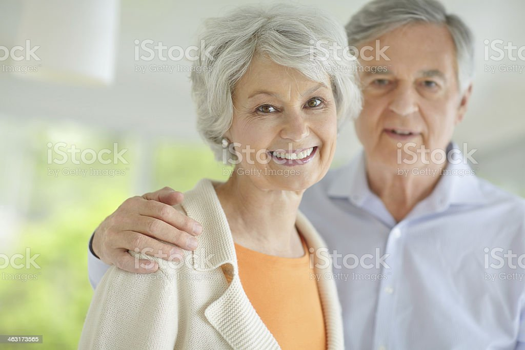 Our love grows everyday royalty-free stock photo