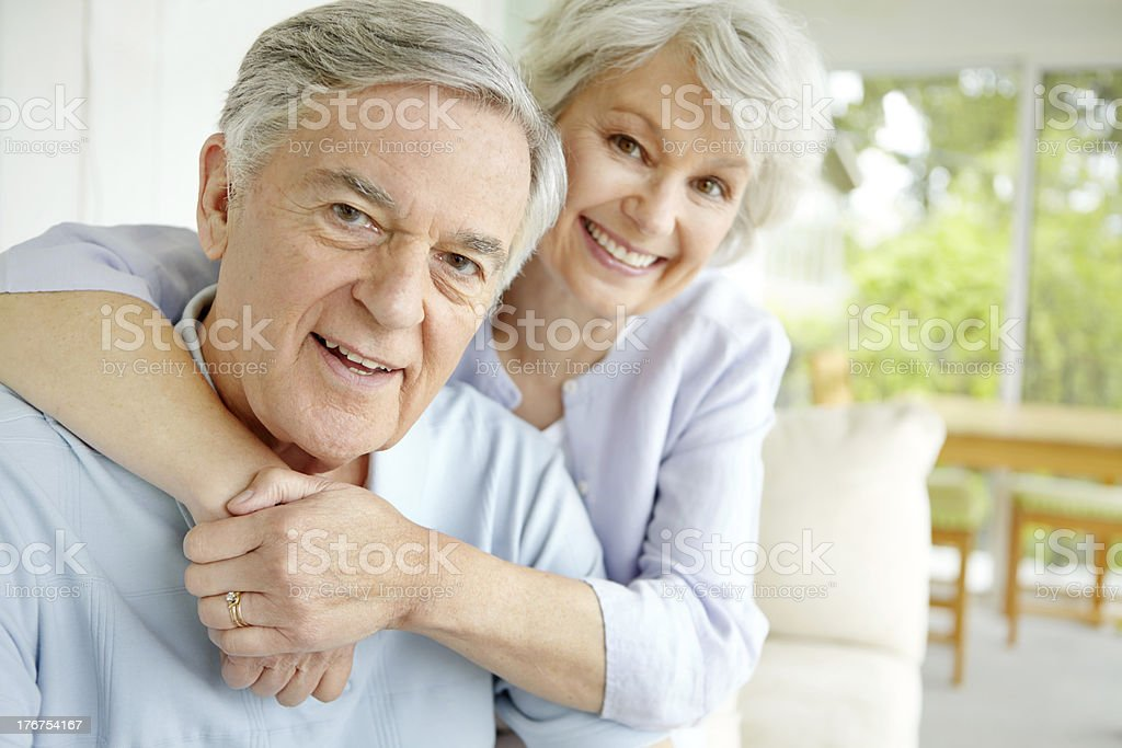 Our love has never been stronger royalty-free stock photo