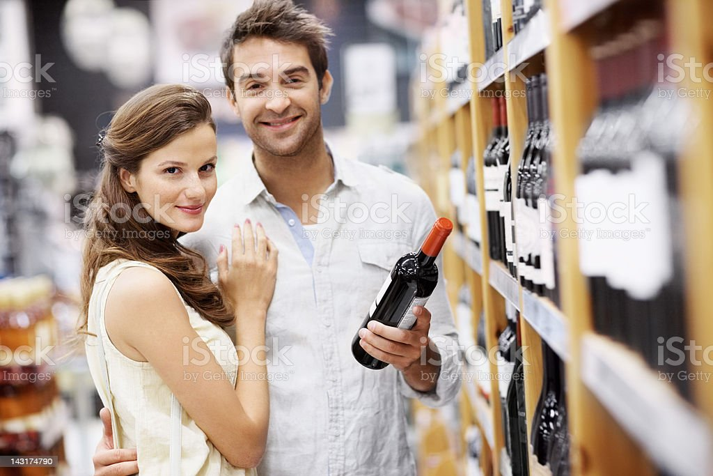Our love is like a fine wine, only getting better royalty-free stock photo