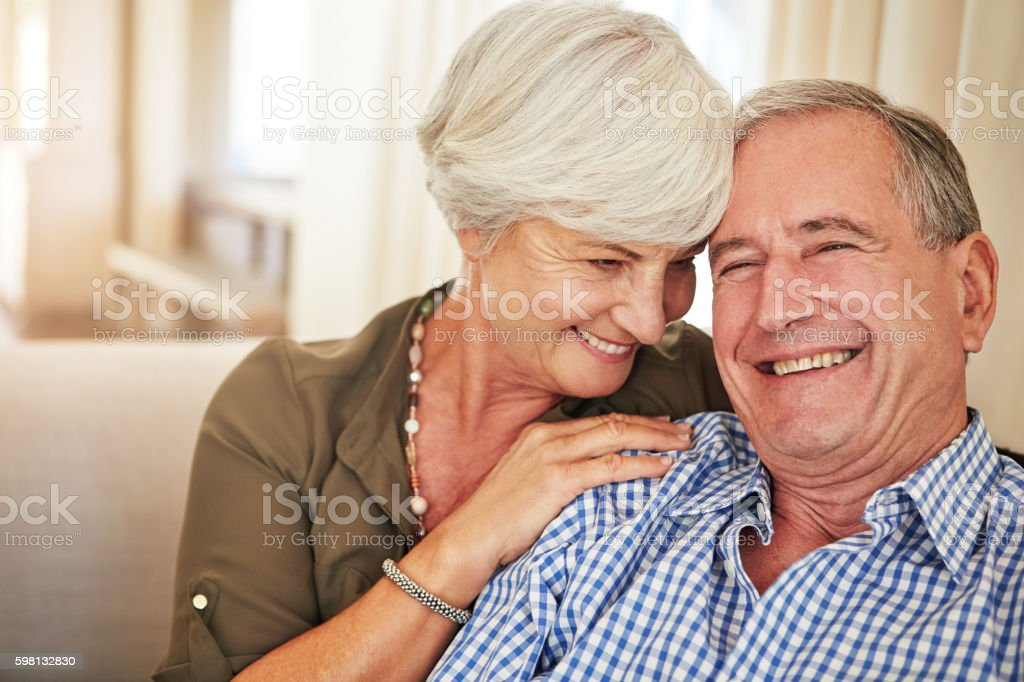 Our love is stronger than ever stock photo