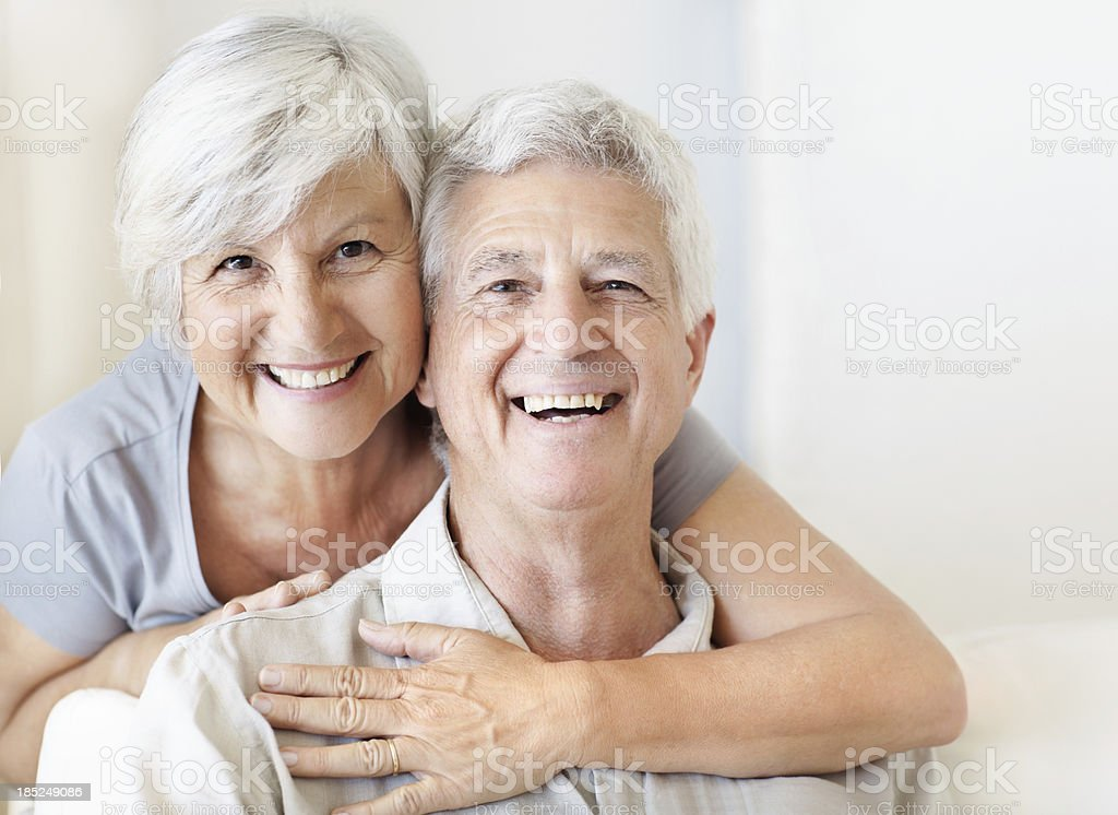 Our love keeps getting better with age stock photo