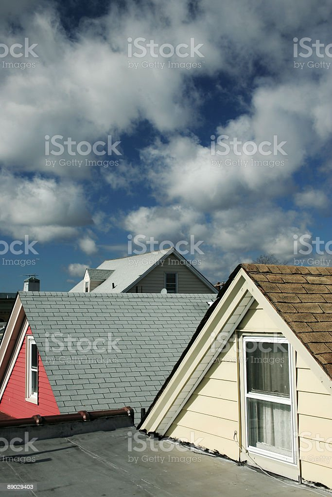 our neighborhood stock photo